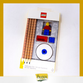 SET MATITE E TEMPERINO LEGO