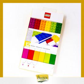SET 12 PENNARELLI LEGO