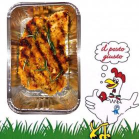 Cotoletta di pollo arrostita
