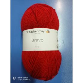 """Lana """"BRAVO"""" colore Rosso (feuer)"""